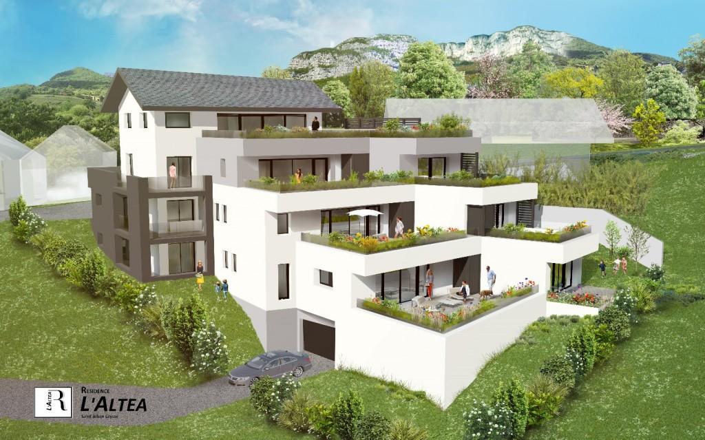 l 39 alt a 9 logements en accession la propri t st alban leysse atelier raymond brun. Black Bedroom Furniture Sets. Home Design Ideas